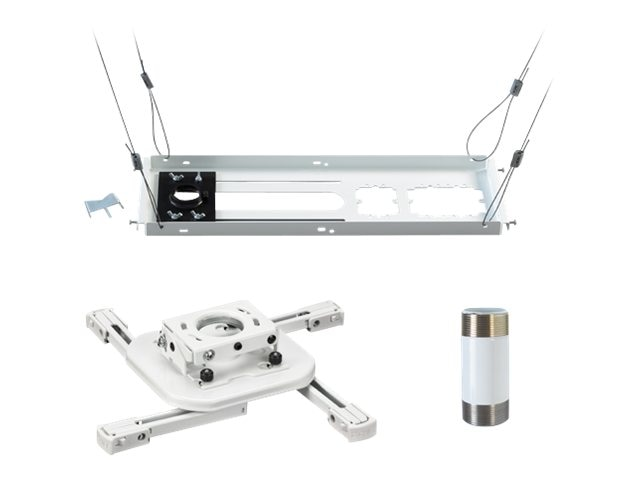 Chief Manufacturing Universal Projector Mount, Above Tile Ceiling Kit, 3 Fixed Extension Column