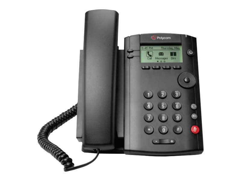 Polycom Desktop Phone VVX 101, 2200-40250-001, 30181762, VoIP Phones