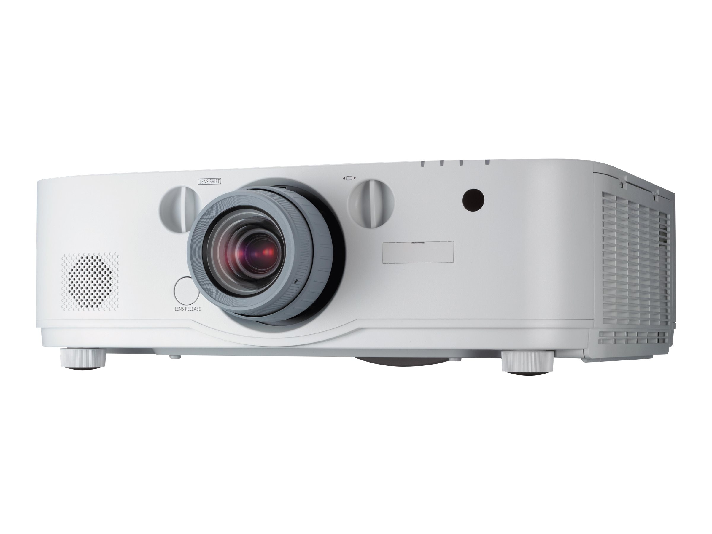 Open Box NEC PA571W WUXGA LCD Projector, 5700 Lumens, White with 1.5-3.0:1 Zoom Lens, NP-PA571W-13ZL, 30954104, Projectors