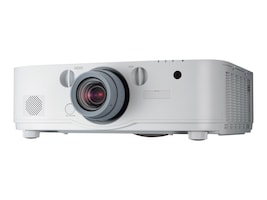 NEC PA571W WUXGA LCD Projector, 5700 Lumens, White with 1.5-3.0:1 Zoom Lens, NP-PA571W-13ZL, 17780541, Projectors