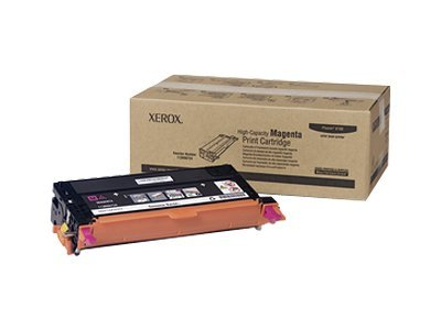 Xerox Magenta High Capacity Print Cartridge for Phaser 6180, 113R00724