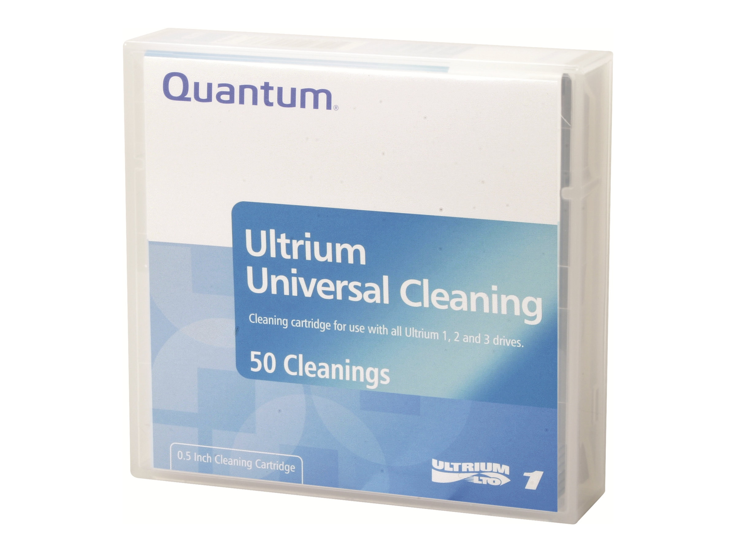 Quantum LTO Universal Cleaning Cartridge, MR-LUCQN-01