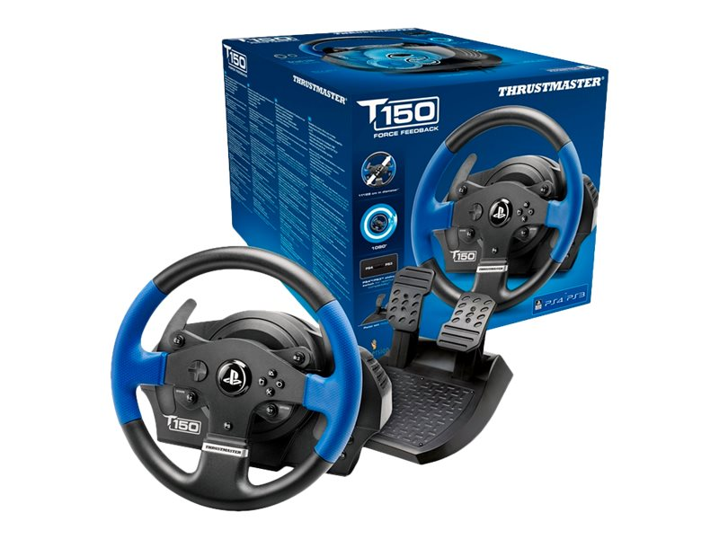Thrustmaster T150 Force Feedback Racing Wheel for PS3, PS4, 4169080