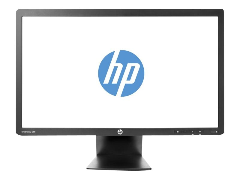 HP 23 E231 Full HD LED-LCD Monitor, Black, C9V75AA#ABA, 15593777, Monitors - LED-LCD