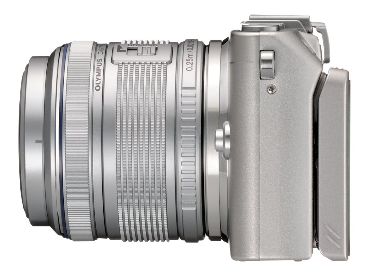 Olympus E-PL5 with Silver 14-42mm Lens - Silver, V205041SU000
