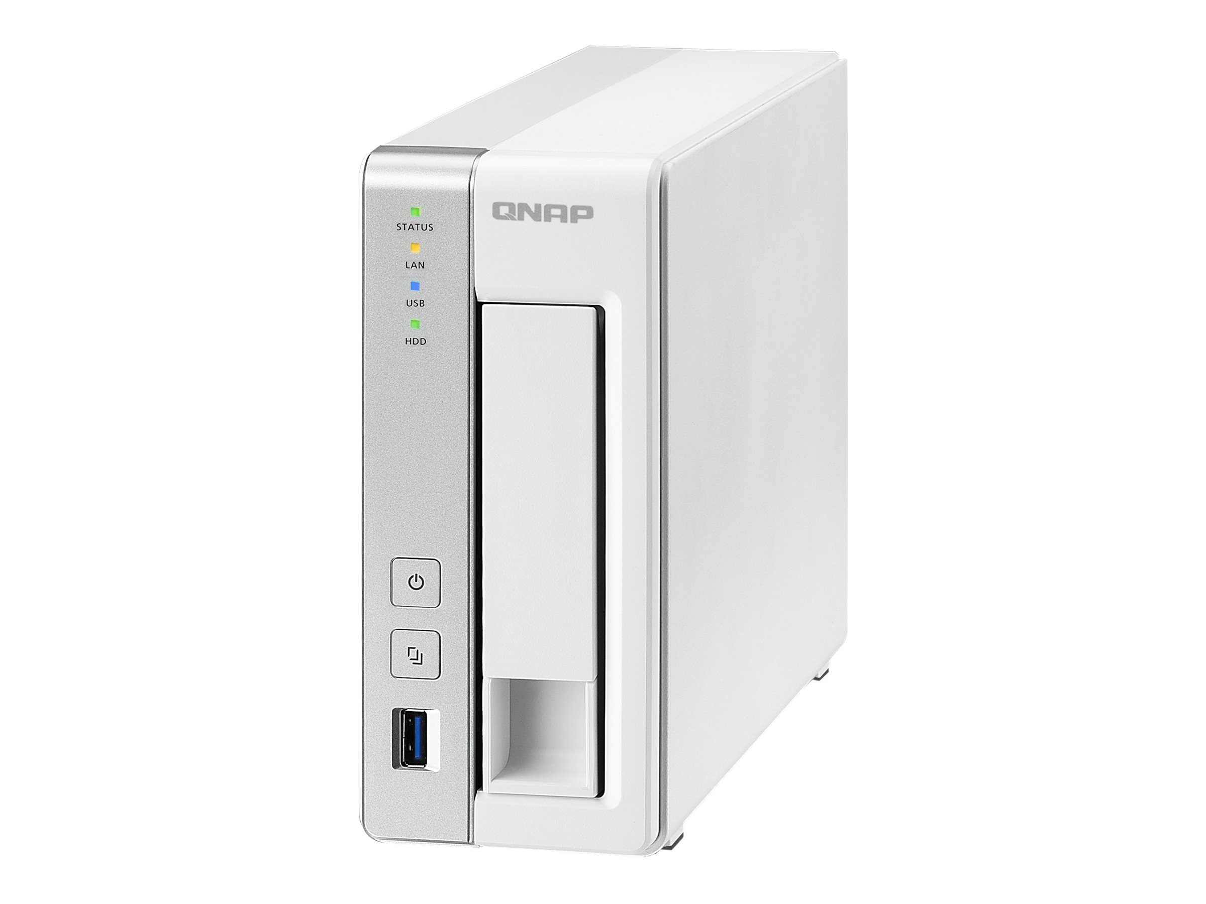 Qnap 1 Bay Personal Cloud NAS, TS-131