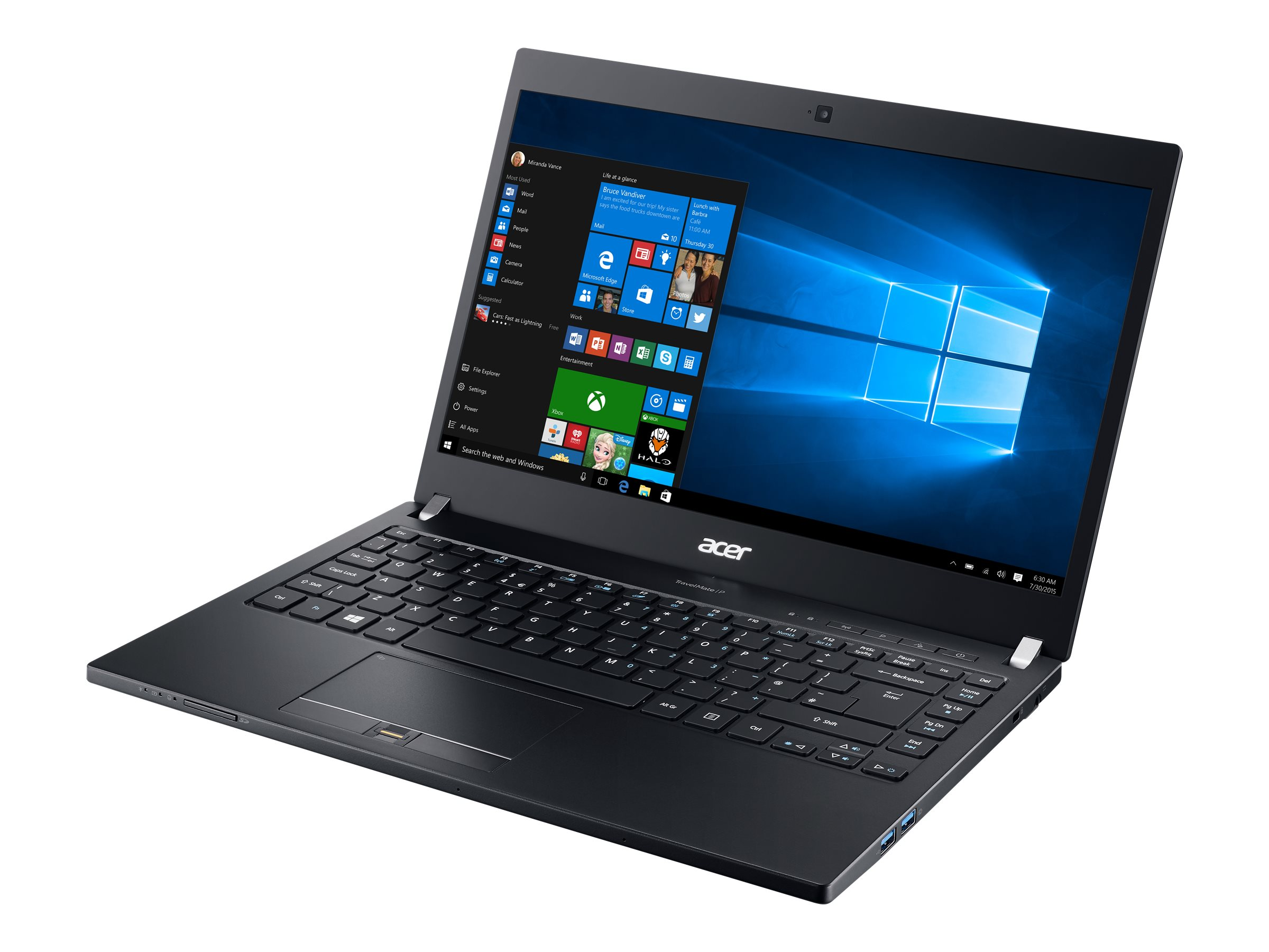 Acer Travelmate P648-M-59Q7 2.4GHz Core i5 14in display