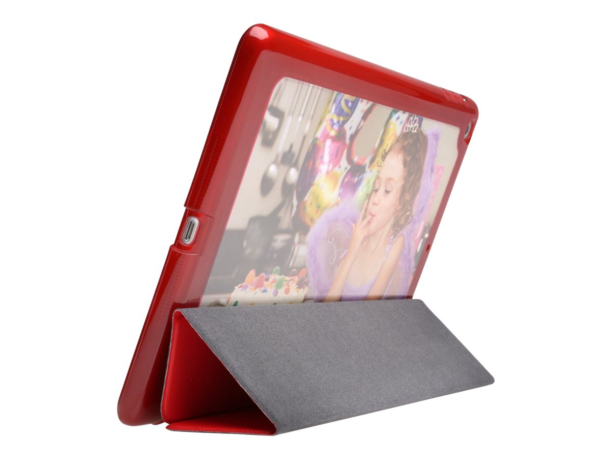 Kensington Portafolio Me Customizable Folio Case for iPad Mini, Red, K97240US, 17381567, Carrying Cases - Tablets & eReaders