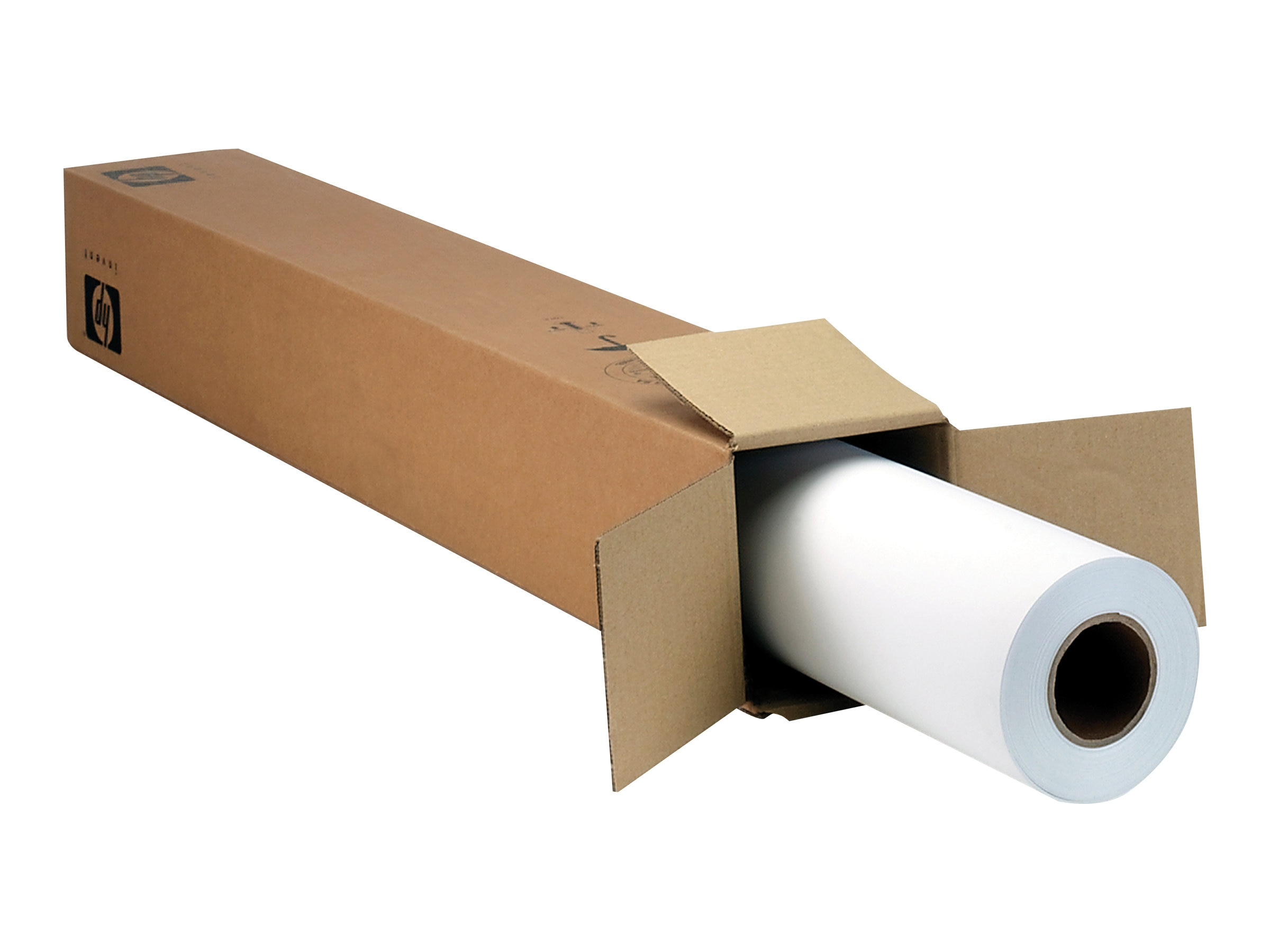 Open Box HP 36 x 100' Everyday Matte Polypropylene (2 Rolls), CH023A, 31163451, Paper, Labels & Other Print Media