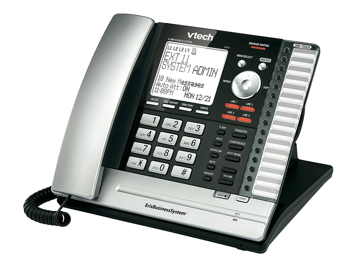 Vtech ErisBusiness System 4-line Main Console Phone, UP416