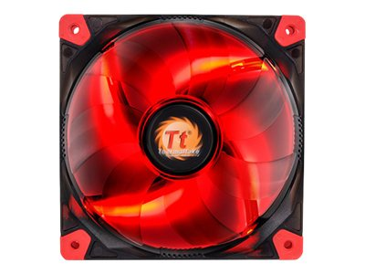 Thermaltake Luna 12 LED Fan, Red