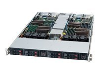 Supermicro SuperChassis 809T-1200, Black, CSE-809T-1200B, 12341363, Cases - Systems/Servers