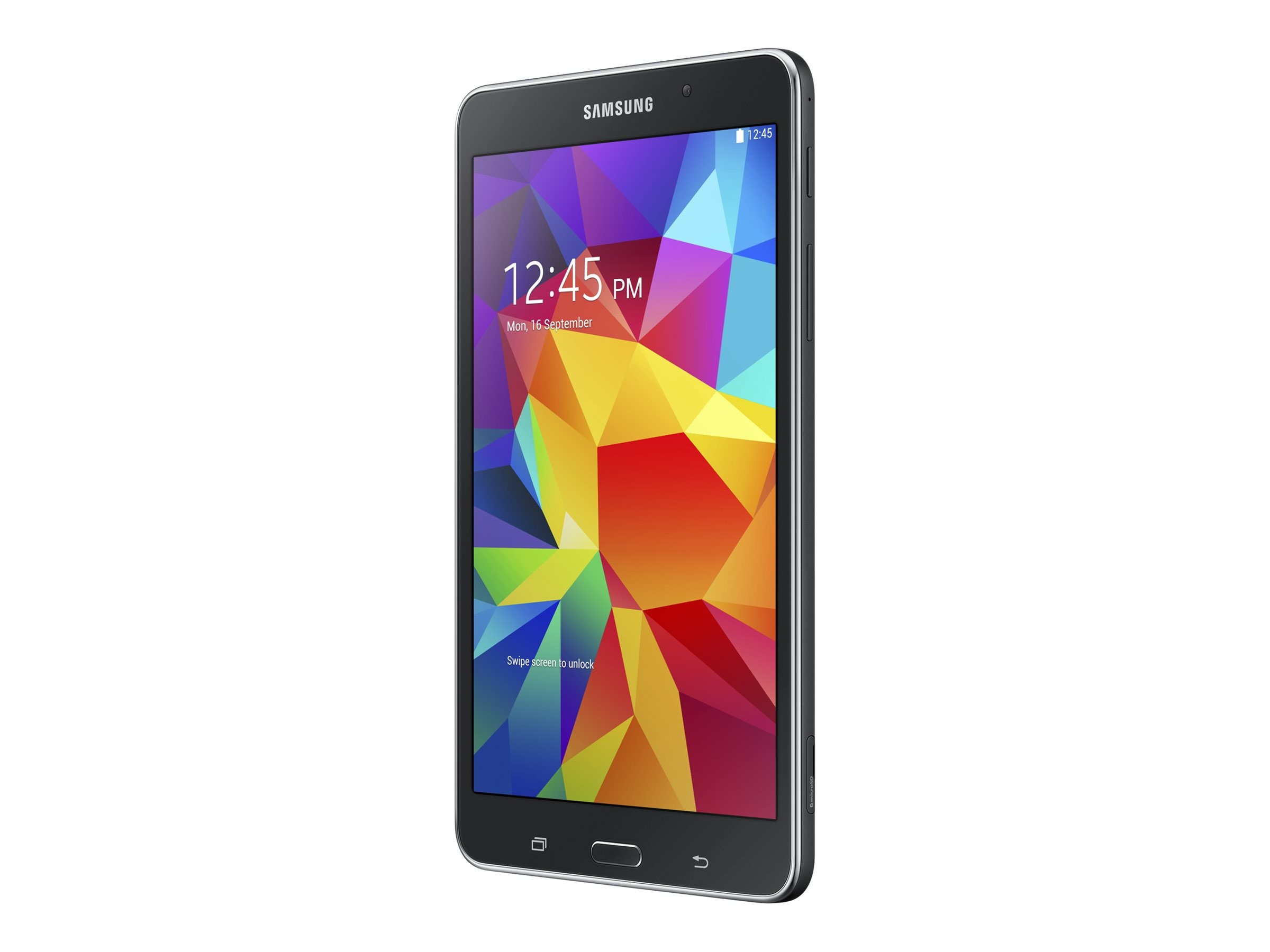 Samsung Galaxy Tab 4 1.2GHz processor Android 4.4 (KitKat), SM-T230NYKAXAR