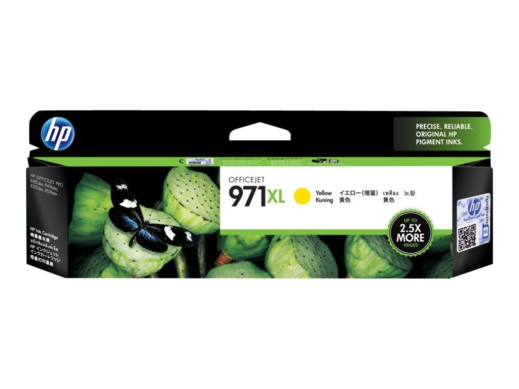 HP 971XL (CN628AM) High Yield Yellow Original Ink Cartridge