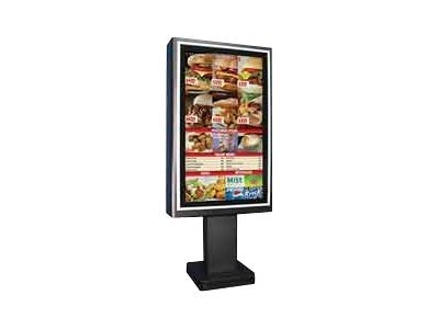 Planar Outdoor Enclosure Stand for 47 Displays