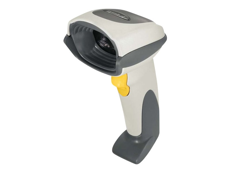 Zebra Symbol DS6707 Barcode Scanner Kit, USB, 7-ft Cable, White