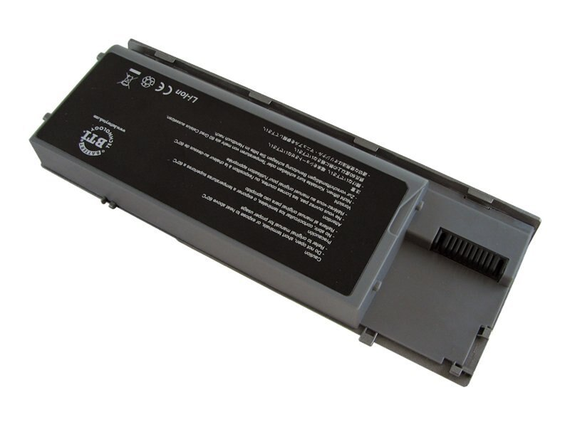 BTI Battery, Li-Ion 11.1V 5200mAh 6-cell for Dell Select Latitude Notebooks, DL-D620X3