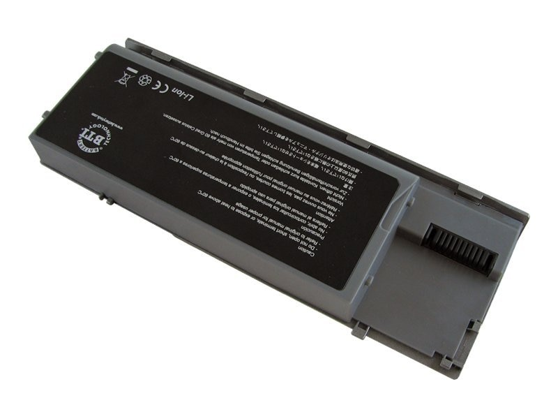 BTI Battery, Li-Ion 11.1V 5200mAh 6-cell for Dell Select Latitude Notebooks