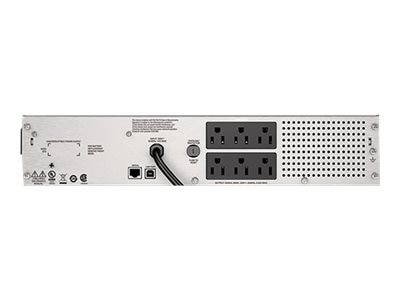 APC Smart-UPS SMC 1000VA 600W 120V 2U Rack-Mount LCD USB UPS, SMC1000-2U
