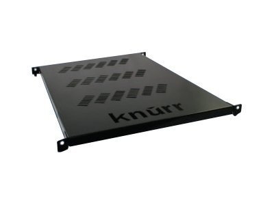 Liebert 19 Knurr Toolless Fixed Ventilated Rack Shelf (Mounts in Square EIA Holes), 002185000, 7180462, Rack Mount Accessories