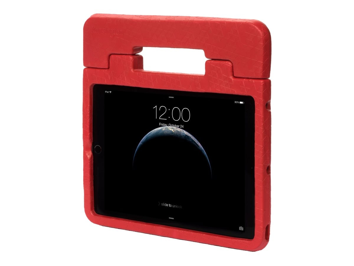 Kensington SafeGrip Rugged Case for iPad Air 2, Red, K97363WW