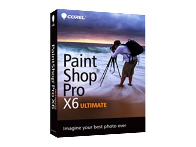 Corel PaintShop Pro X6 Ultimate Englsih, PSPX6ULENMBAM, 16153685, Software - Illustration & Utilities