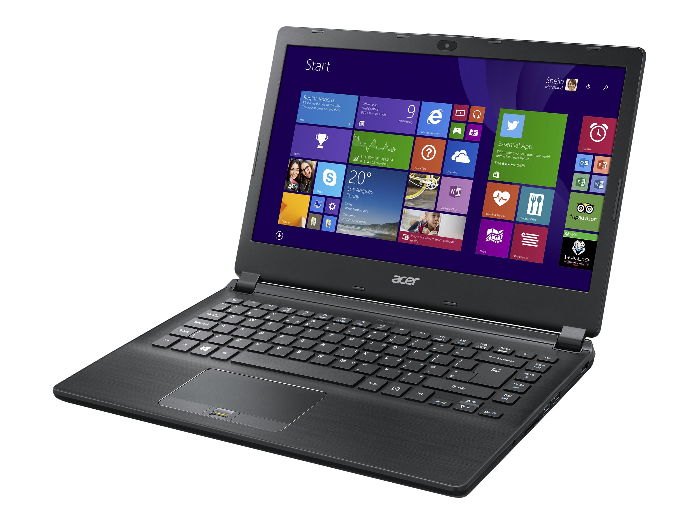 Acer TravelMate P446-M-77QP 2.4GHz Core i7 14in display