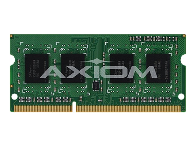 Axiom 8GB PC3-12800 204-pin DDR3 SDRAM SODIMM for Select ThinkCentre, ThinkPad Models, 0A65724-AX, 14512971, Memory