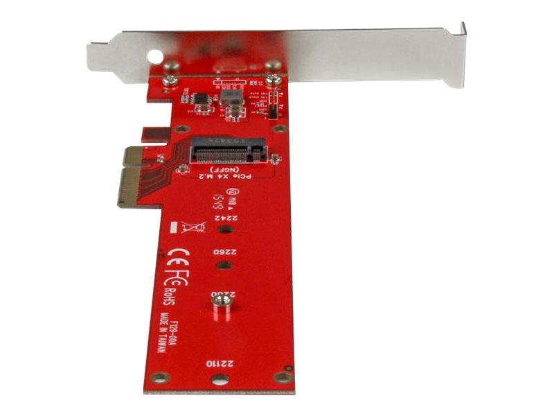 StarTech.com x4 PCI Express to M.2 PCIe SSD Adapter, PEX4M2E1