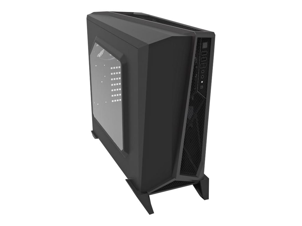 Corsair Chassis, Carbide Alpha Mod Tower Gaming, Black Silver, CC-9011084-WW, 30968098, Cases - Systems/Servers