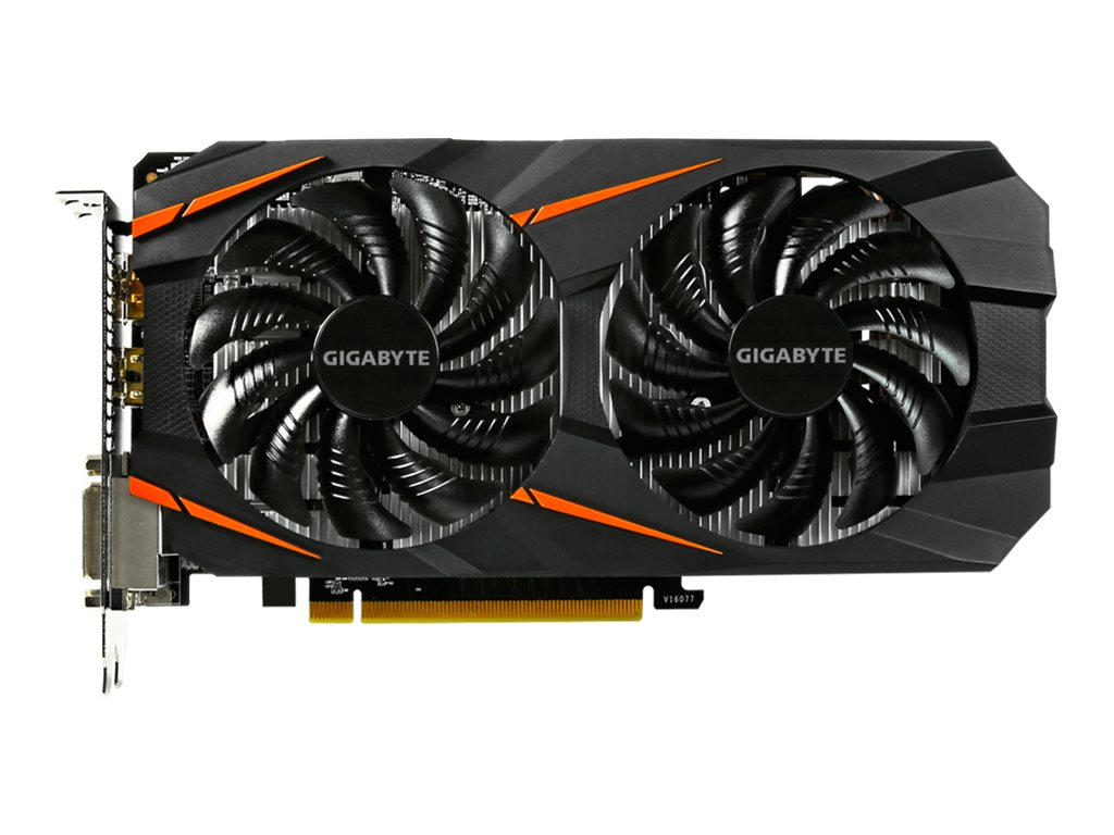 Gigabyte Tech GeForce GTX 1060 PCIe Overclocked Graphics Card, 6GB GDDR5