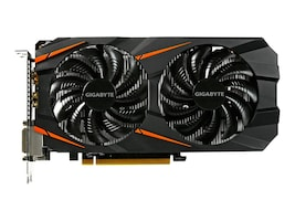 Gigabyte Tech GeForce GTX 1060 PCIe Overclocked Graphics Card, 6GB GDDR5, GV-N1060WF2OC-6GD, 32407892, Graphics/Video Accelerators