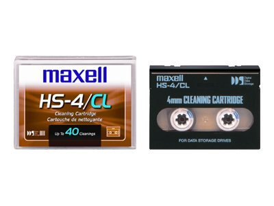 Maxell 4MM HS Cleaning Cartridge, Universal, 186990, 7664889, Tape Drive Cartridges & Accessories