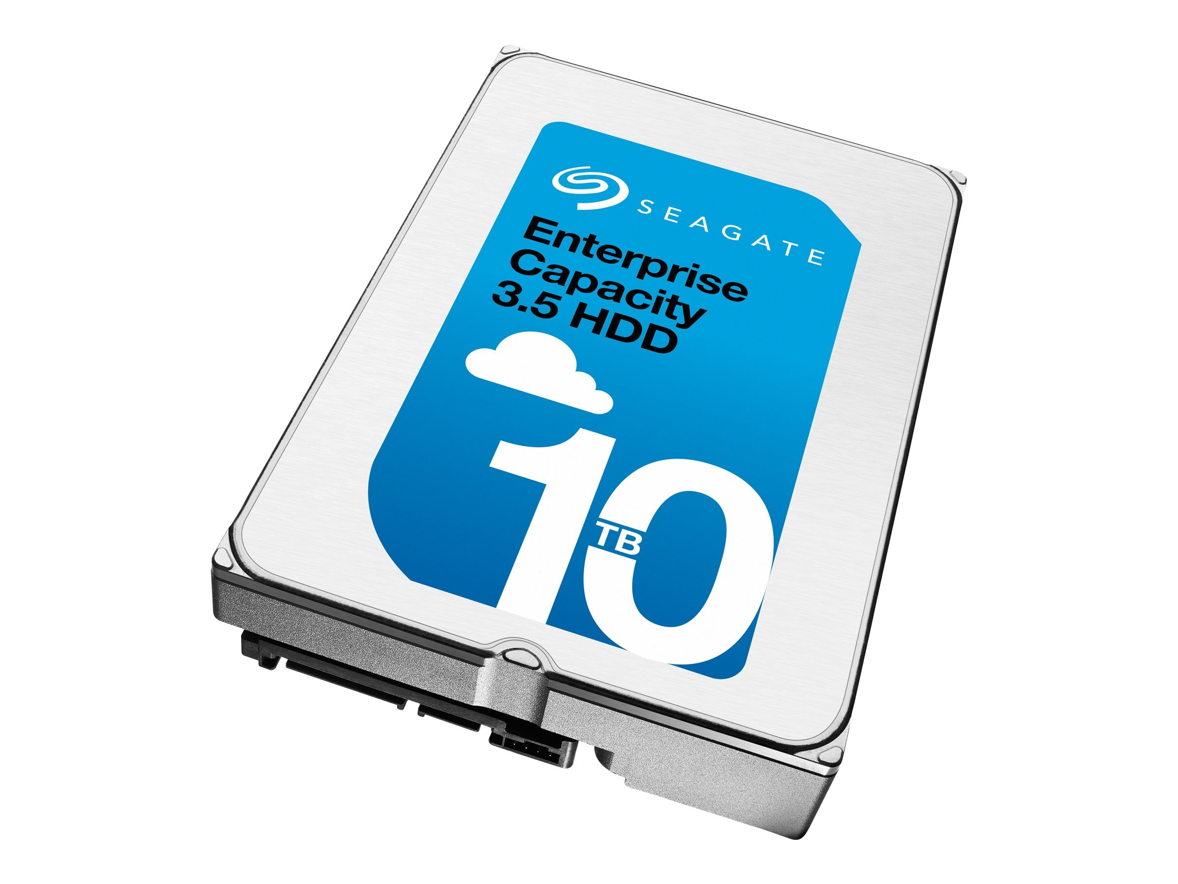 Seagate 10TB Enterprise Capacity SATA 6Gb s 512e 3.5 Internal Hard Drive (Helium)