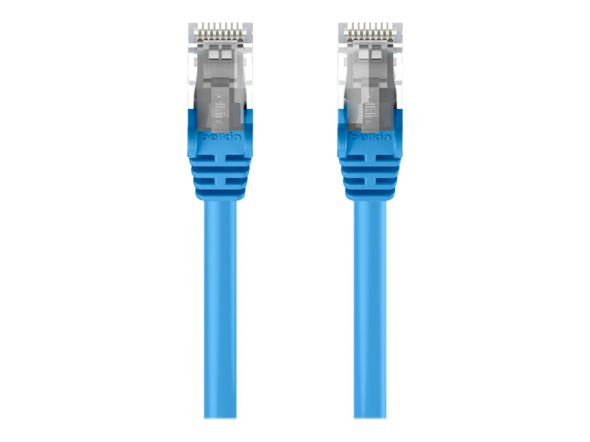 Belkin Cat5e Snagless Patch Cable, Blue, 7ft, A3L791B07-BLU-S