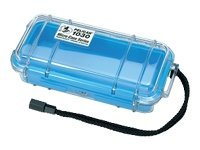 Pelican 1030 Clear Micro Case, Blue, 1030-026-100, 11760996, Protective & Dust Covers