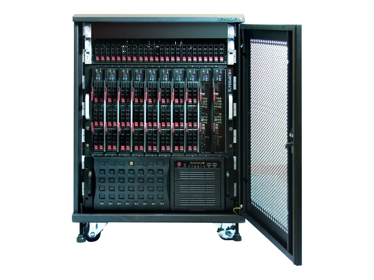 Supermicro OfficeBlade 14U Rack Cabinet, CSE-RACK14U, 9448194, Servers - Blade