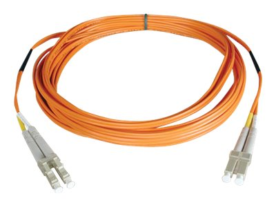 Tripp Lite Fiber Patch Cable, LC-LC, 50 125, Duplex, Multimode, 8m, N520-08M, 8956795, Cables
