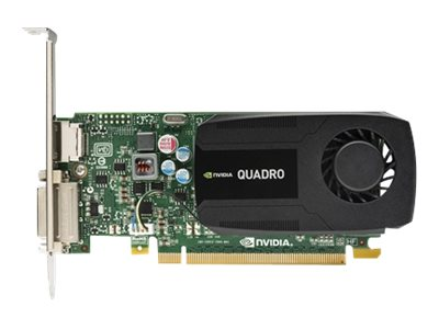 HP NVIDIA Quadro K420 PCIe 2.0 x16 Graphics Card, 2GB DDR3