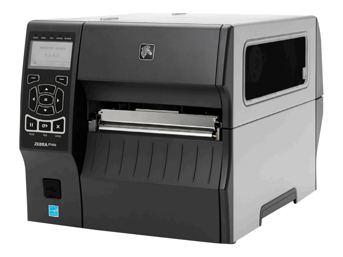 Zebra ZT420 8Dot mm 203dpi Printer, ZT42062-T010000Z, 17284759, Printers - Label