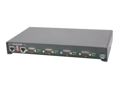 Comtrol DeviceMaster RTS 4-Port-DB9 Serial to Ethernet RoHS, 99445-9