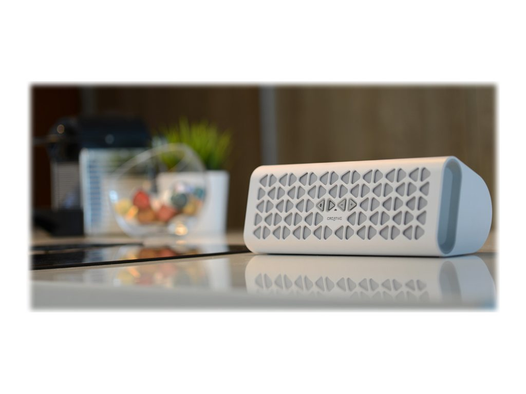 Creative Labs Muvo 20 BT Speaker - White, 51MF8185AA001, 31364317, Speakers - Audio