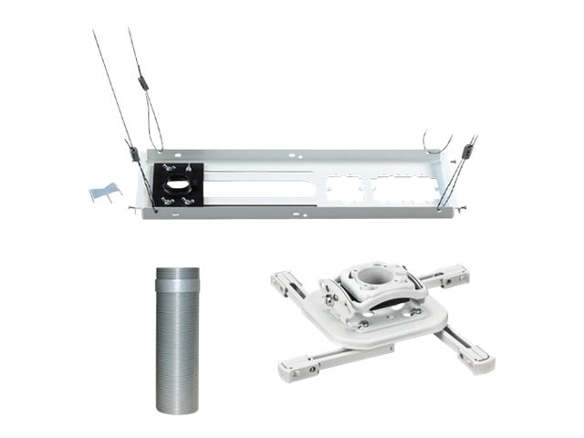 Chief Manufacturing Mini Elite Universal Projector Mount, Fully Threaded Column 0-6, Tile Suspended Ceiling Kit