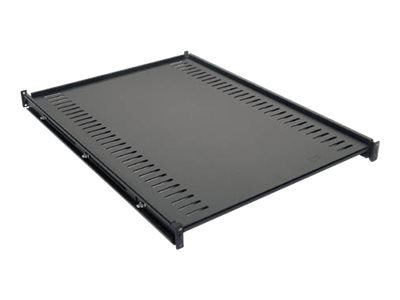 APC Fixed Shelf 1U Rackmount 250lbs (114kg) Black, AR8122BLK