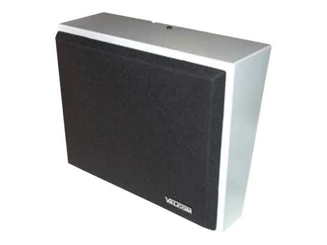 Valcom IP Talkback Wall Speaker Assembly - Gray, VIP-430A, 31147494, Speakers - Audio