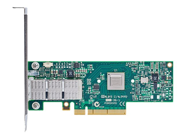 Mellanox Connect-3 Ethernet Network Interface Card 40GigE Single Port QSFP, MCX313A-BCCT