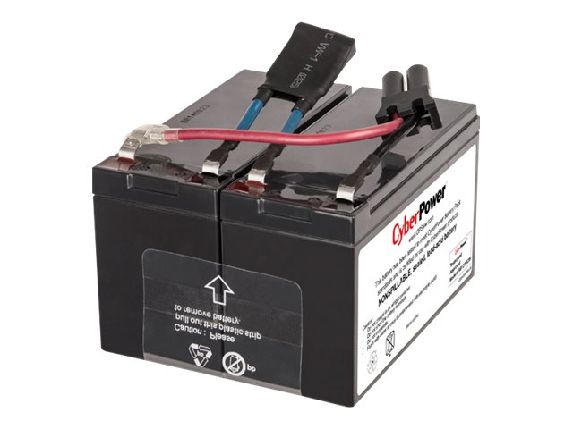 CyberPower 12V 7Ah UPS Replacement Battery Cartridge (Qty: 2), RB1270X2B, 21247192, Batteries - Other