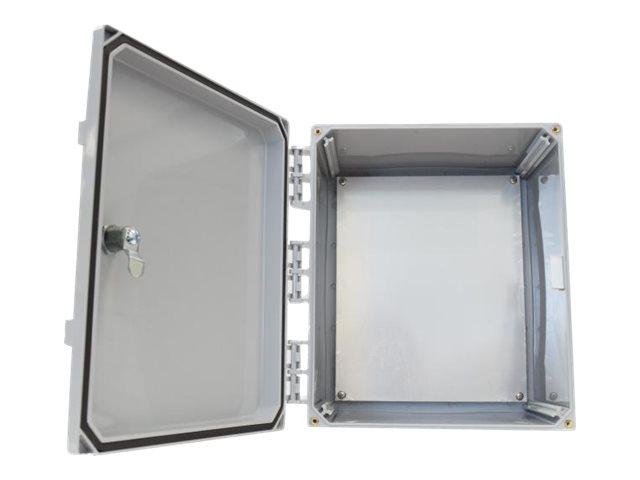 Tessco 12x10x6 Solid Door Enclosure, UV12106KO-NH