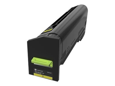 Lexmark Yellow Ultra High Yield Toner Cartridge for CX860 Series, 82K0U40, 31440084, Toner and Imaging Components