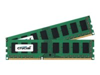 Crucial 8GB PC3-12800 240-pin DDR3 SDRAM DIMM Kit, CT2KIT51264BA160BJ, 15195357, Memory